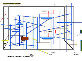 transitstation Kopenhagen - plan scaffolding